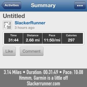Keep up Garmin!