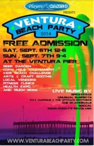 Ventura beach party