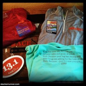 Expo haul- love the ambassador shirts this year!